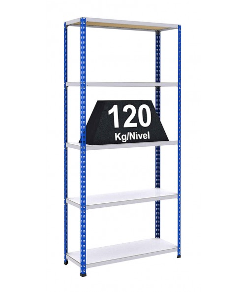 Estanter as riveto 100 estanter as met licas para cargas - Como colocar estanterias ...