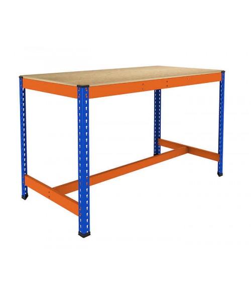 Mesa de trabajo con reposapies inferior noega shop for Mesa de trabajo dimensiones